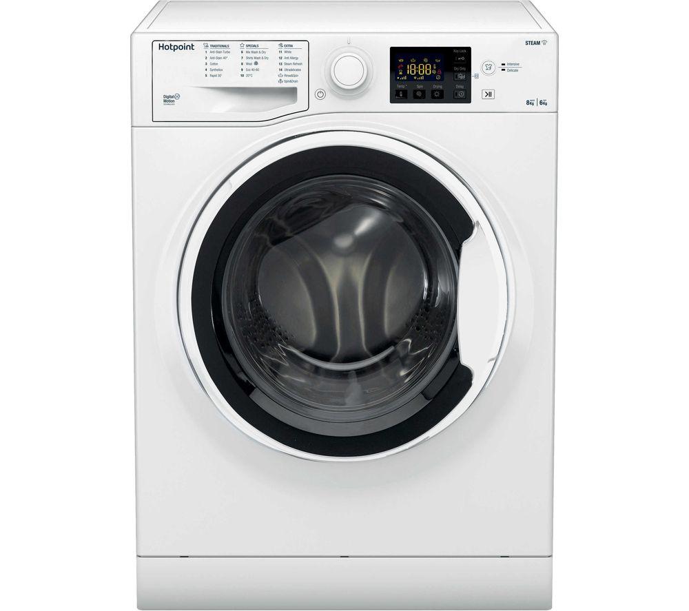 HOTPOINT RDG 8643 WW UK N 8kg(wash) /6KG(dry) Washer Dryer WHITE £323.99 @ Currys