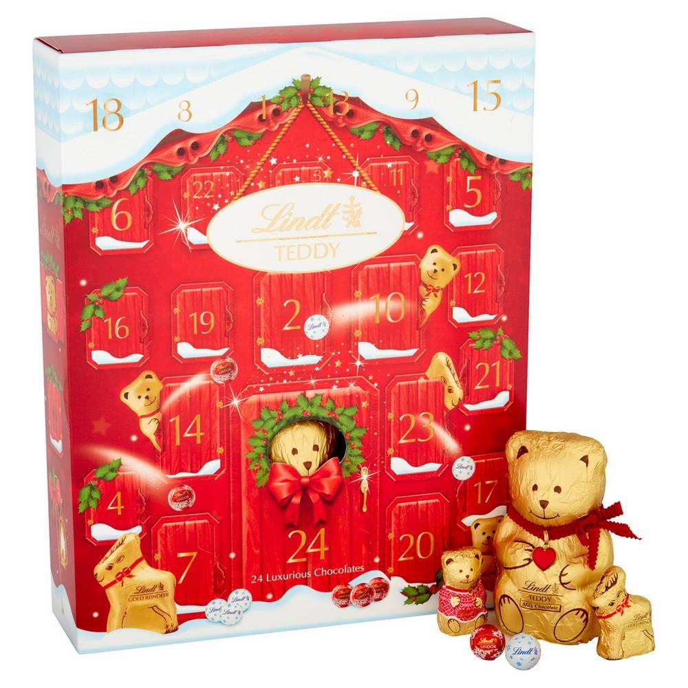 Debenhams: 20% off Cadbury & Lindt Advent Calenders Plus Free Delivery. E.g Lindt - Teddy Milk Chocolate Advent Calendar 250g £8 Delivered