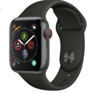 Apple Watch Series 4 - 40mm/44mm - GPS/4G - All Case Colours - Black Sport Band £175.99 @ Music magpie eBay
