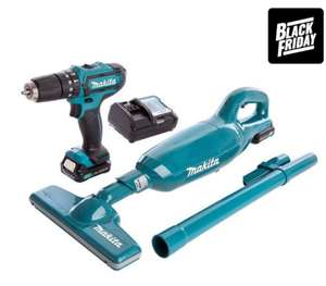 Makita2 Piece Kit with 2 x 1.5Ah Batteries, Charger and Case £108 @ ITS