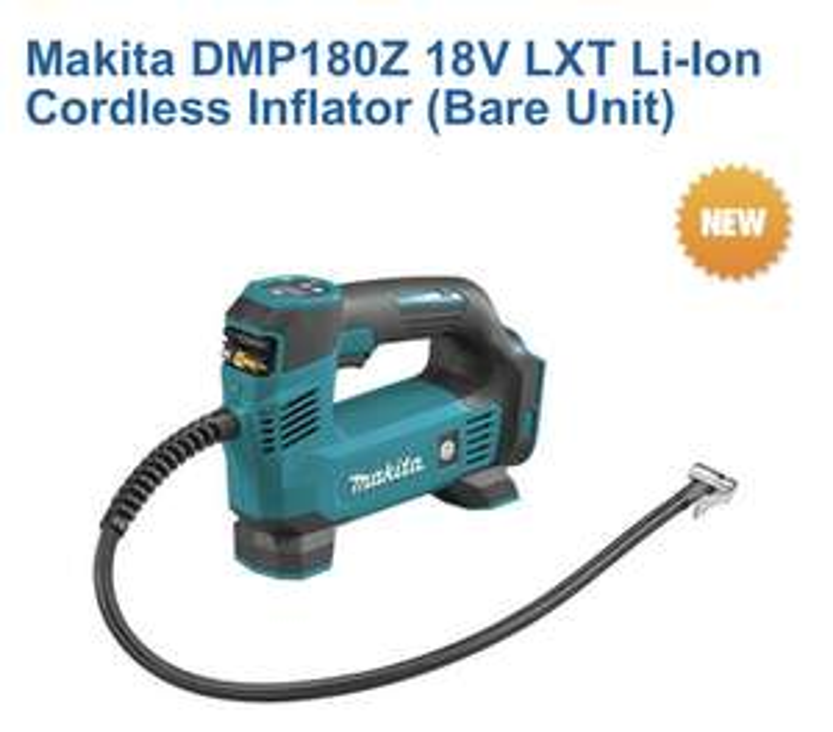 Makita DMP180Z 18v Inflator bare unit £56.99 @ Machine mart