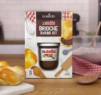 Free Nutella Brioche Baking Kit, just pay for postage £2.99 @ Vodafone VeryMe Rewards