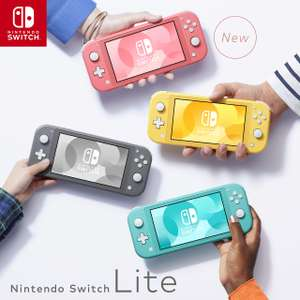 Nintendo Switch Lite Turquoise Grey Yellow Coral For 169 99 Asda Hotukdeals