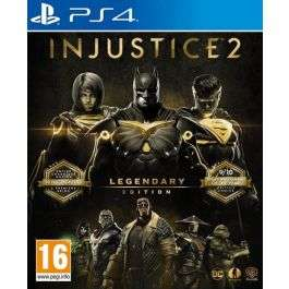 Injustice 2 Legendary Edition (PS4) £12.95 delivered at The Game Collection
