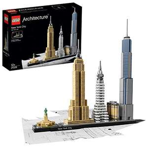 LEGO 21028 Architecture New York City Model Building Set, Skyline Collection with 4 Buildings - £30.91 delivered @ Amazon Germany