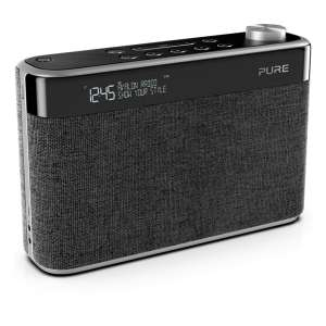 Pure AVALON N5 BLACK DAB+/FM Radio with Bluetooth £99.99 (from 17th November) @ Hughes