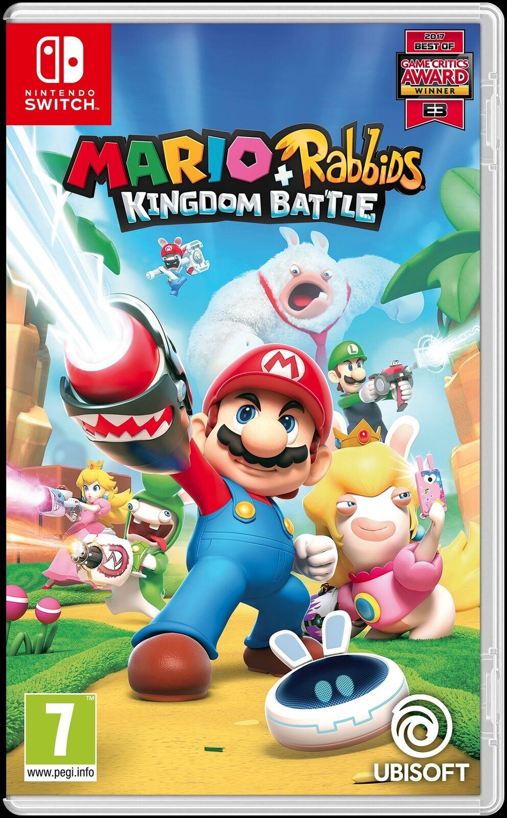 Mario + Rabbids Kingdom Battle - £20.79 @ ShopTo eBay