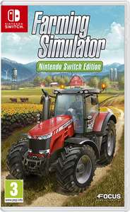 Farming Simulator Nintendo Switch Edition £6.49 at Nintendo eShop