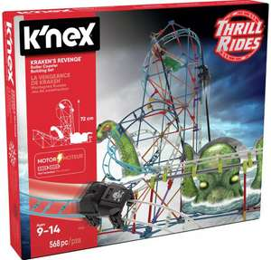 K'NEX Krakens Revenge motorised, 72cm tall roller coaster for £25 with click and collect @ Argos