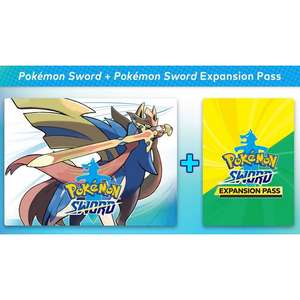 Pokemon Sword Plus Expansion Pass £58.39 @ ShopTo eBay