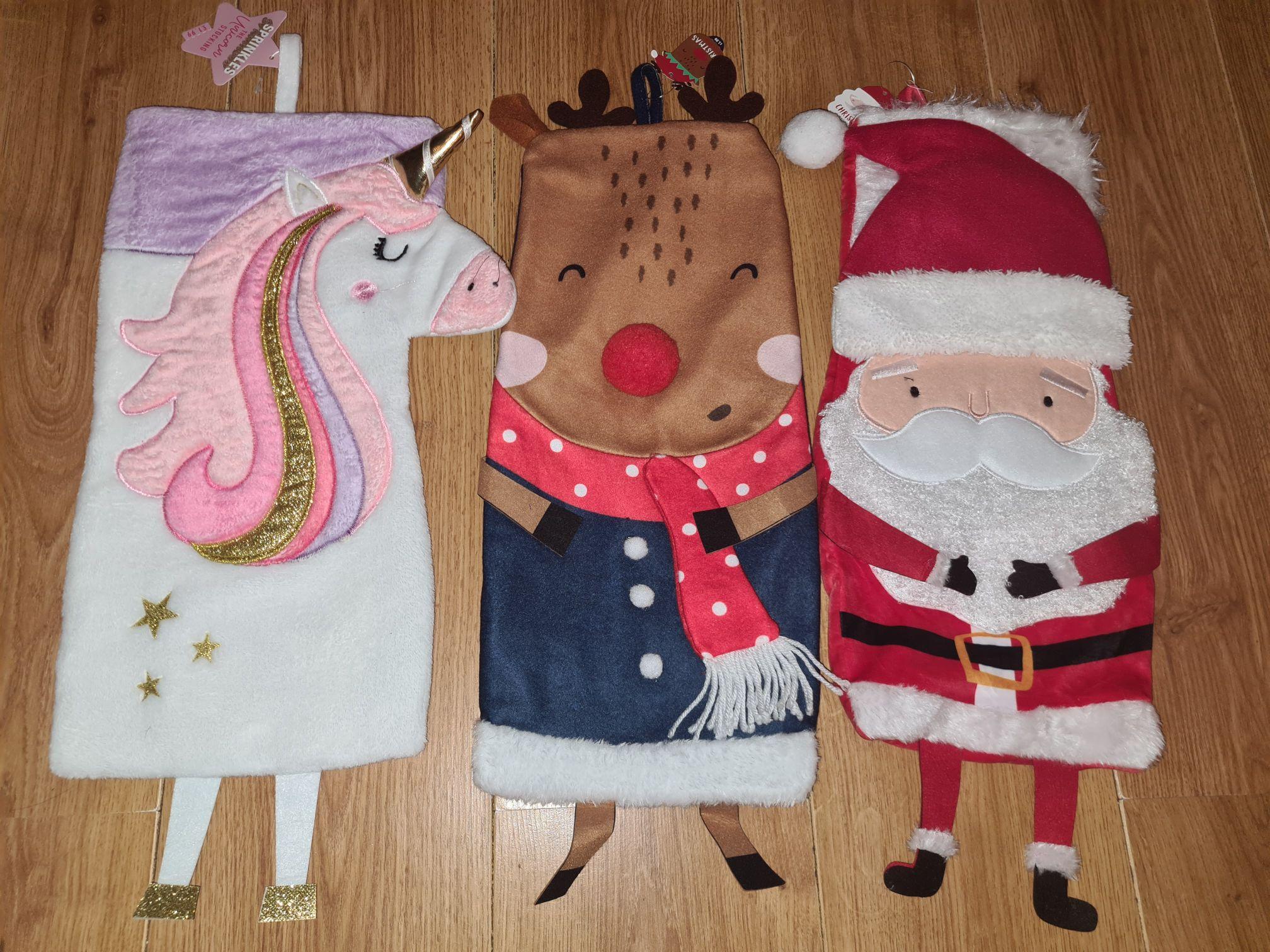 Various Christmas Stockings Only £1.99 each @ Card Factory (Edinburgh)
