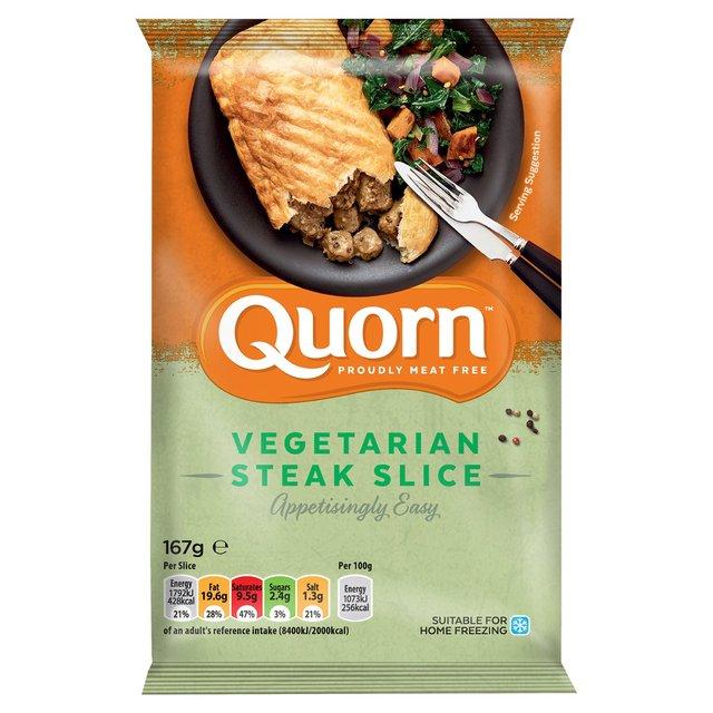 Quorn Vegetarian Steak Slice 167g - £1 @ Morrisons