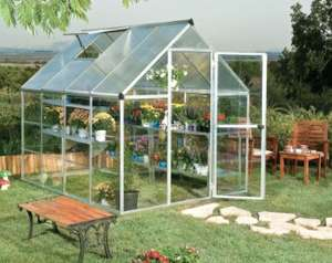Argos Aluminium Greenhouse 6X8 ft reduced to £250 - Delivery from £6.95 @ Argos