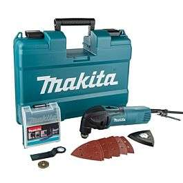 Makita TM3000CX14 Multi Tool With Case & Accessories (240V) - £71.99 @ ECA Toolfast