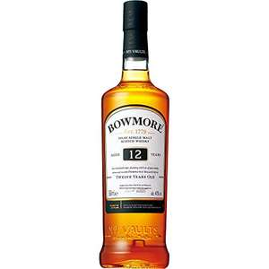 Bowmore Malt Whisky 12 Year Old, 70 cl - £25 @ Amazon