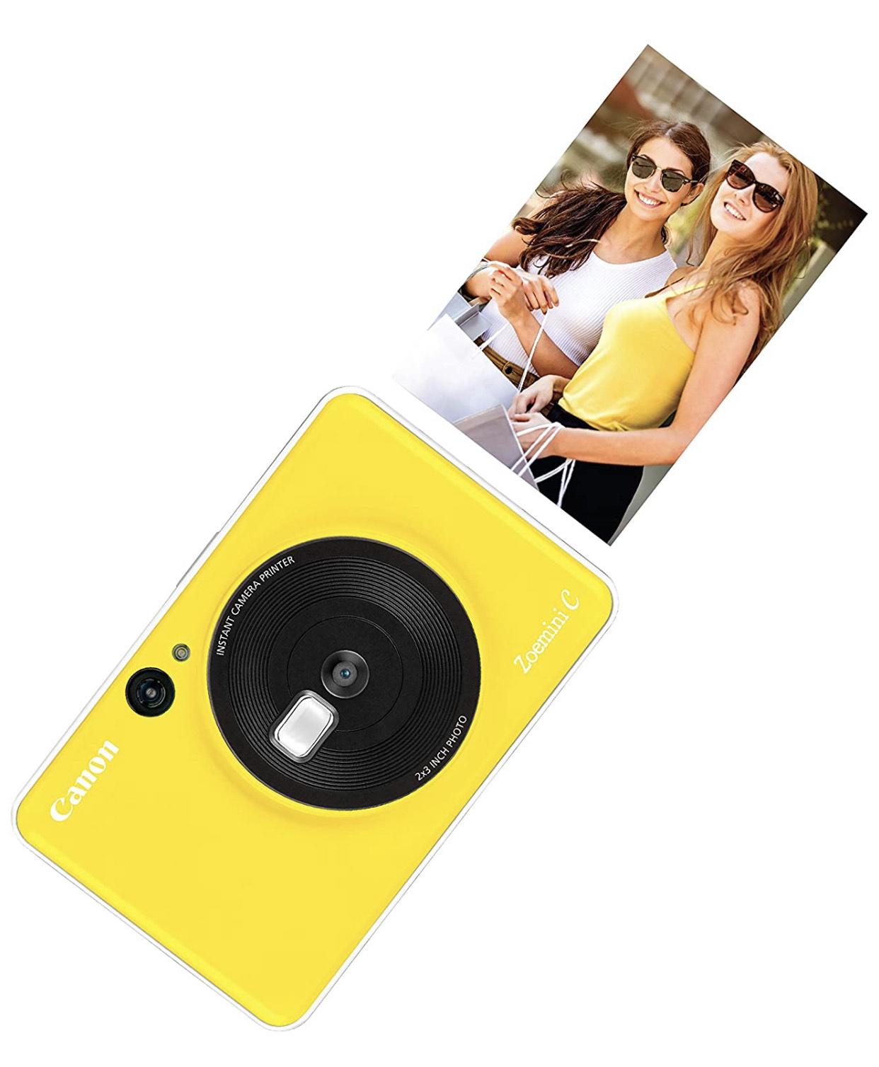 Canon Zoemini C Instant Camera & Mini Photo Printer - Sold and Shipped by Amazon - £49.99