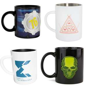 Assorted Official Gaming Ghost Recon/Fallout 76/Anthem Ceramic and Steel Mugs for £4.99 delivered @ Geek Store