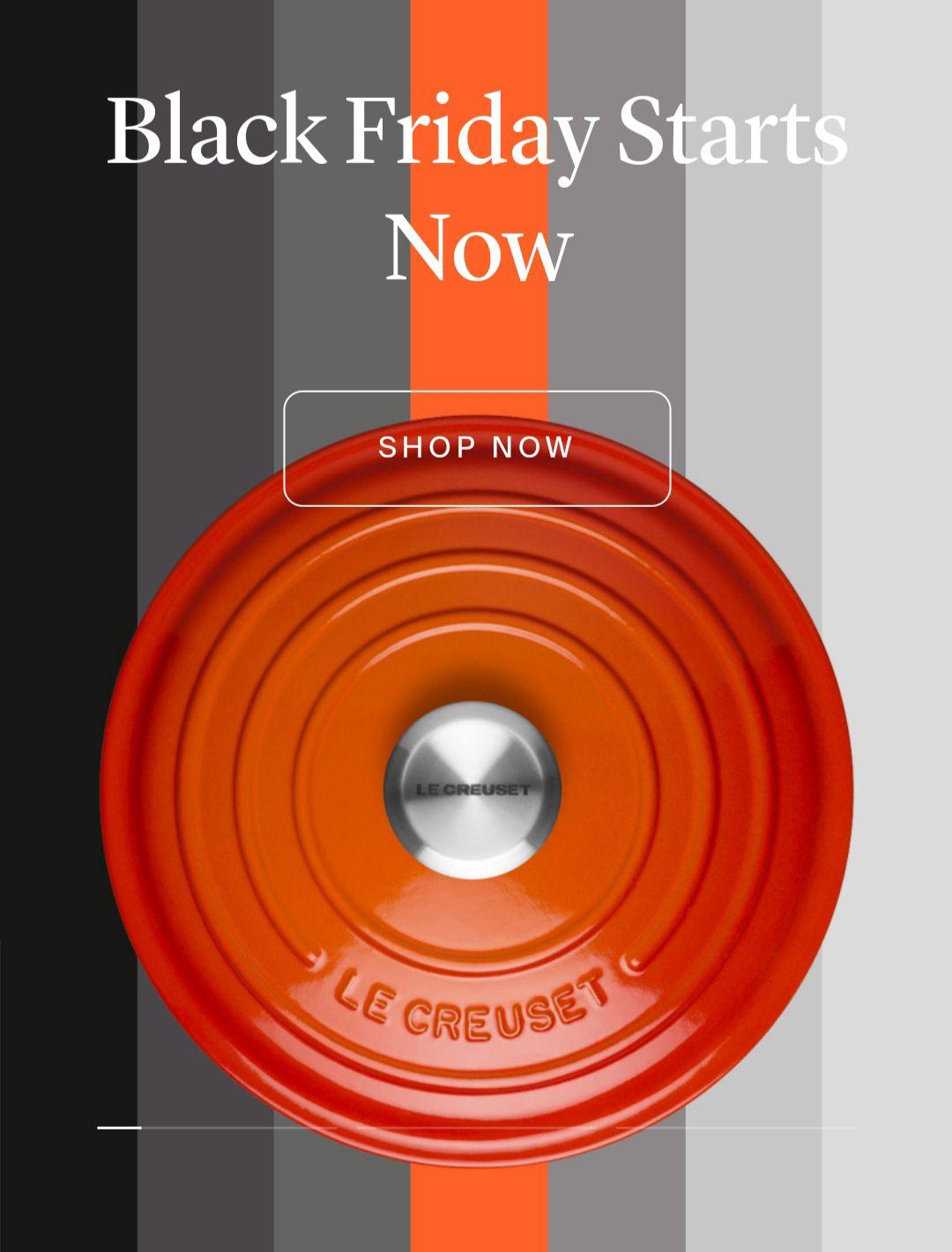 Black Friday Offers e.g 28cm/6.7l Cast Iron Casserole Collection £174 @ Le Creuset