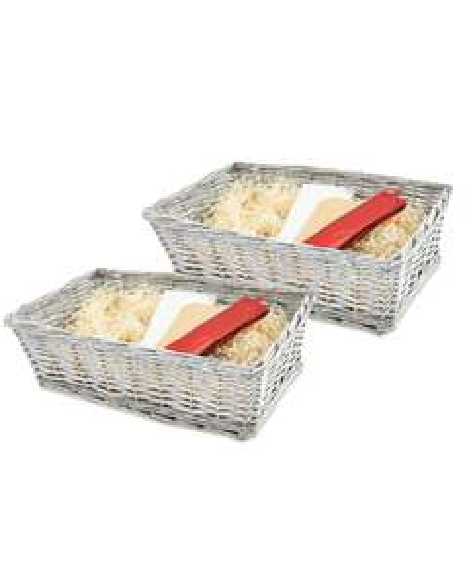 Grey/Red Hamper Kit 2 Pack - £9.98 / £12.93 delivered @ Aldi