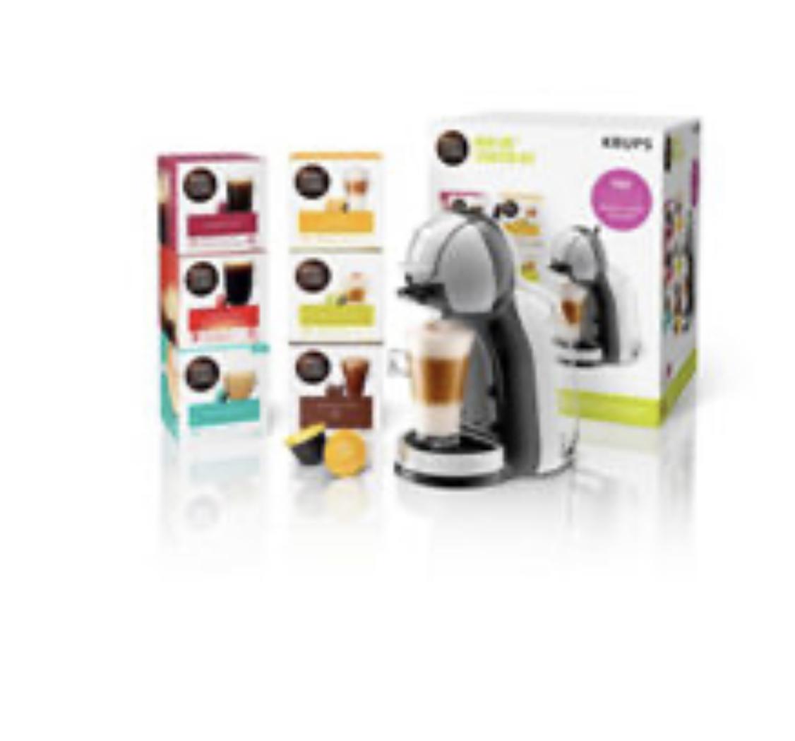 NESCAFE Dolce Gusto Mini Me Automatic Coffee Machine & pods @ Asda