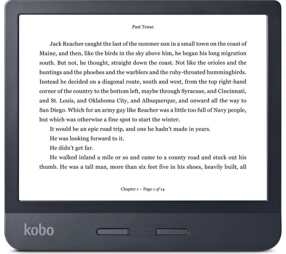 "KOBO Libra H20 7"" eReader - 8 GB, Black £130 @ Currys"