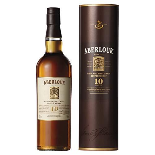 Aberlour 10 Year Old Single Malt Scotch Whisky, 70 cl (Double Cask Matured) £25 @ Amazon