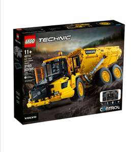 Lego 42114 Technic 6x6 Volvo Articulated Hauler £170.57 (£165.62 with fee free card) delivered @ Amazon Germany.