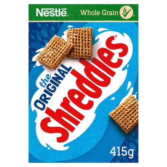 2 Boxes of Nestle Shreddies (415G) for 60p using Nestle Coupon & Clubcard @ Tesco