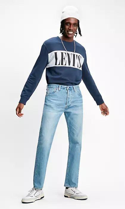 501 Levi's '93 Straight Jeans - Medium Indigo - £50.99 (inc postage) @ Levi.com