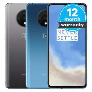 Refurbished OnePlus 7T - 128GB - Unlocked Frosted Silver Pristine £319.99 eBay / musicmagpie
