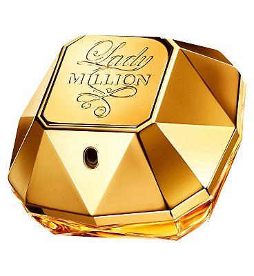Paco Rabanne Lady Million For Women Eau de Parfum 80ml - £57.50 with code at Boots