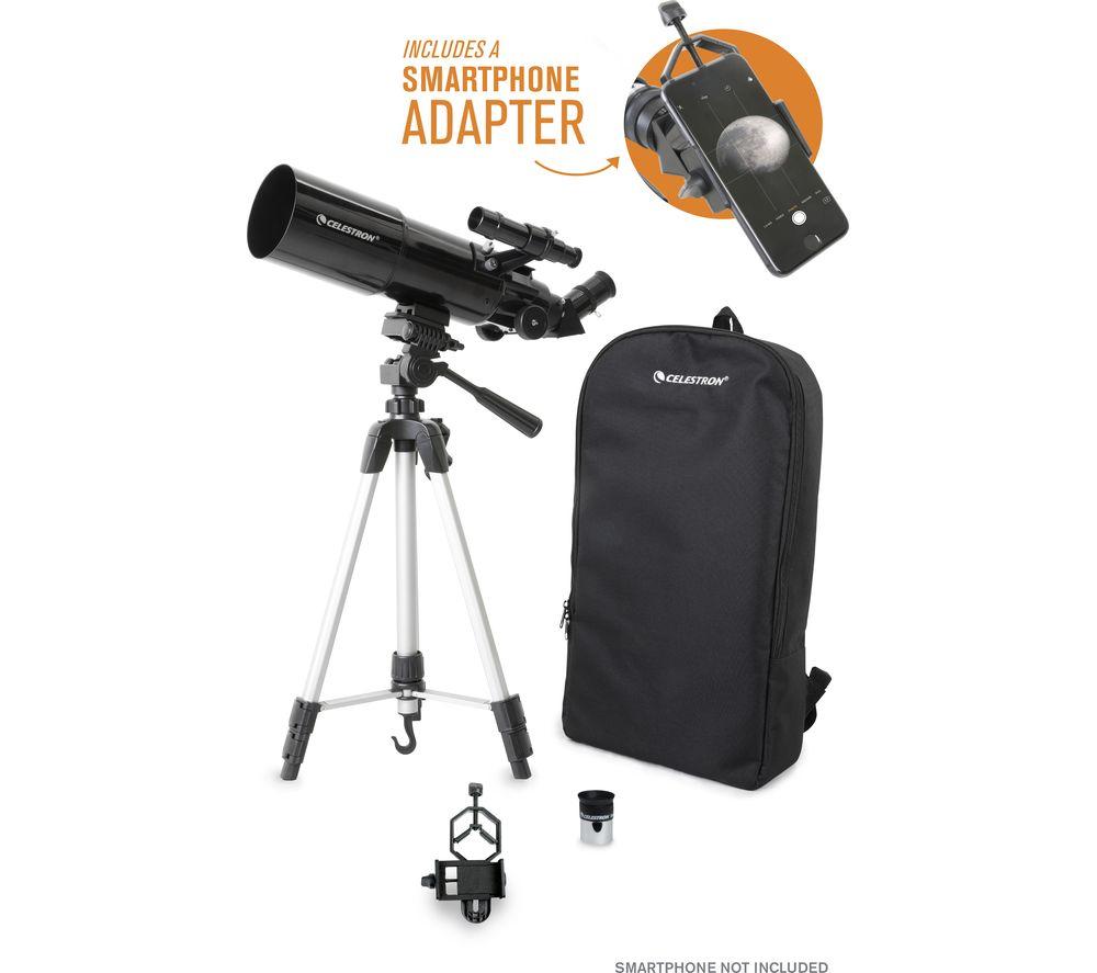 CELESTRON Travelscope 80 22030-CGL Refractor Telescope now £89 @ Currys PC World