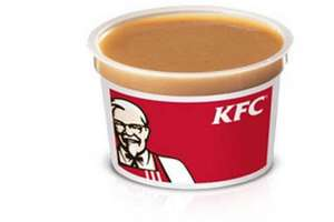 Receive a free pot of gravy with all orders at KFC until the 3rd January when ordering via the app