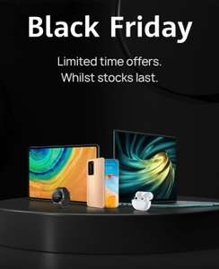 Black Friday deals - P40 Pro - £699.99, Band 4 pro £39.99, P30 lite new edition £199.99 @ Huawei