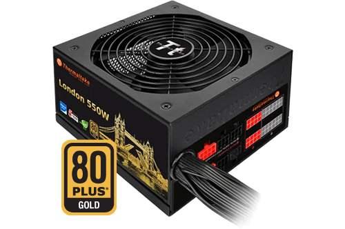 Thermaltake London 550W Quiet Hybrid Modular 80+ GOLD Power Supply + Free shipping £59.99 @ Scan