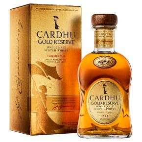 Cardhu Gold Reserve Single Malt whisky for £25 at Waitrose & Partners