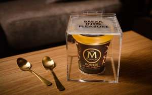 Free Magnum ice cream tubs delivered via Deliveroo (Leeds, London, Manchester or Brighton)