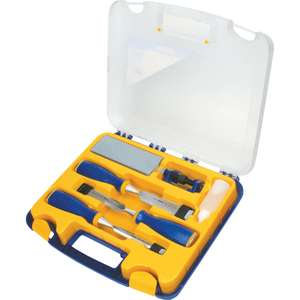 Irwin Marples 3 chisel set, boxed with sharpening and honing tool - £29.99 @ Toolstation