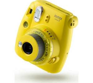 INSTAX mini 9 Instant Camera - Yellow £47.99 with code at ebay / currys_clearance