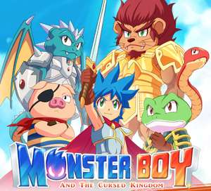 Monster Boy and the Cursed Kingdom £9.99 at Stadia or free with Stadia Pro voucher
