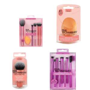 40% off Real Techniques Sponges From £3.59 Brushes From £3.59 with Free Delivery From Justmylook