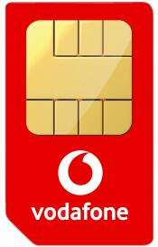 Vodafone 5G Sim Only - Unlimited Minutes and Texts, 100GB for £16pm (£54 cashback - effective £11.50pm - 12mo) @ Mobiles.co.uk