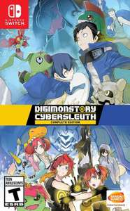 Digimon Cyber Sleuth Complete Edition for Nintendo Switch - £21.59 delivered using code at bossdeals/eBay