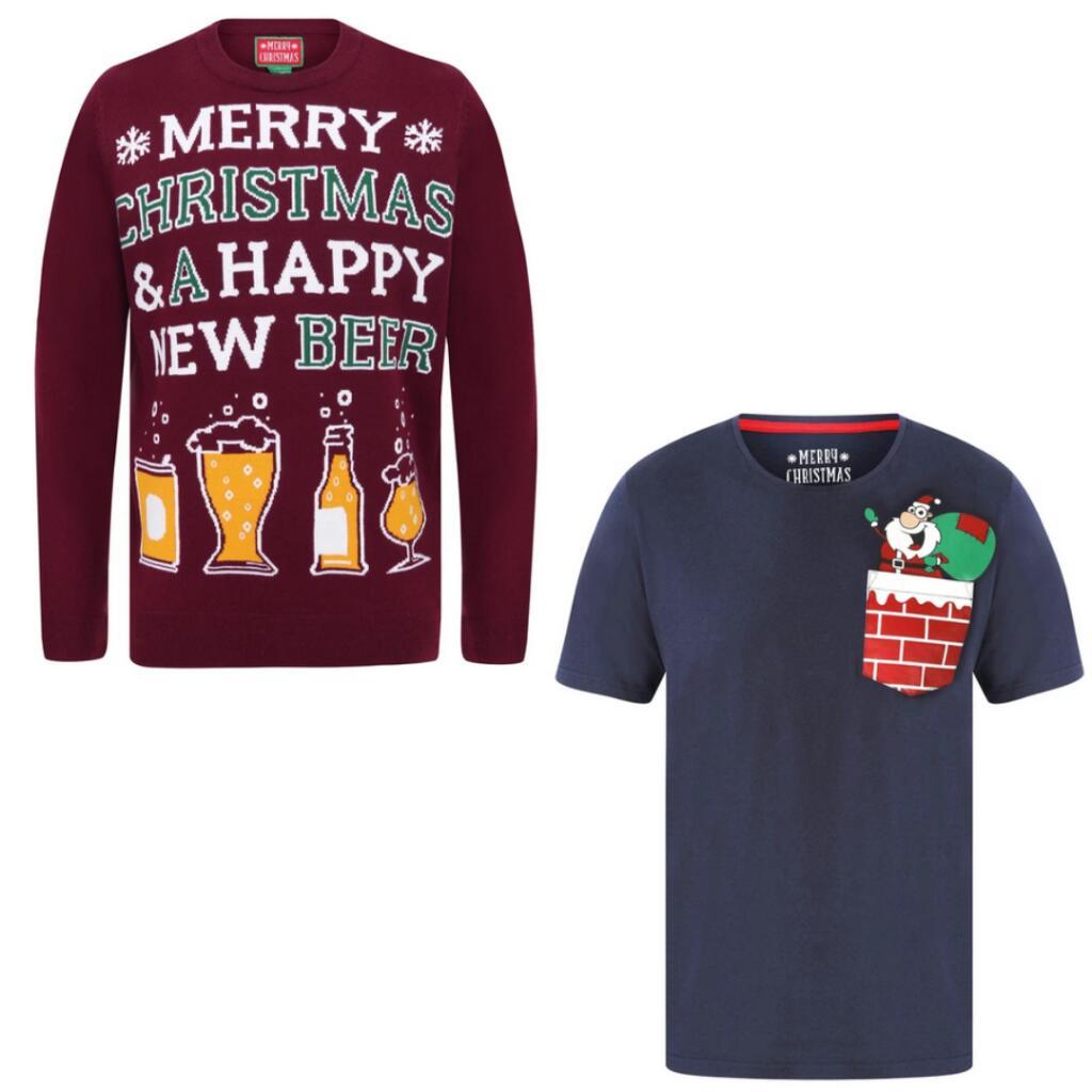 Men's Christmas Jumper + T shirt (or other Gift) for £21.98 delivered @ Tokyo Laundry