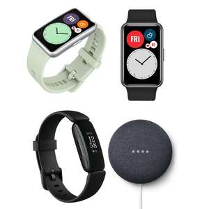 Fitbit Inspire 2 + Nest Mini - £79 / Huawei Watch Fit - £89.99 Delivered @ Currys