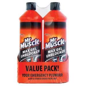 Mr Muscle Max Gel Unblocker 2x 1L £2.80 @ Costco