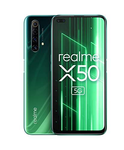 realme X50 5G - Smartphone 128GB, 6GB RAM, Dual Sim, Jungle Green Used Very Good - £210.67 @ Amazon Warehouse