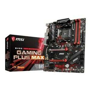 MSI B450 GAMING PLUS MAX AM4 ATX Motherboard £65.47 Delivered @ eBay ebuyer express