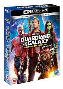 Marvel Studios Guardians of the Galaxy 2-Movie Collection Volume One + Volume Two 4K Ultra HD + Blu-Rays £19.99 + £2.99 NP @ Amazon