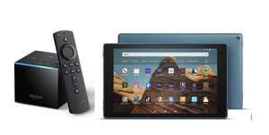 Fire TV Cube £69.99 / Kindle Fire HD 10 with 1080 Display £89.99 / Kindle Fire HD 8 £54.99 Delivered @ Amazon